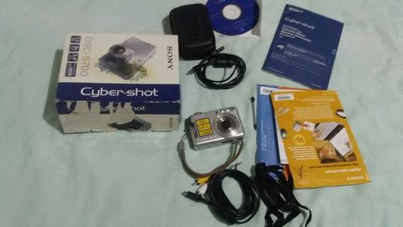 Câmera Digital Sony Cybershot Dsc S700 7.2 Megapixels