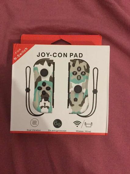 Joy Con Switch Camuflado