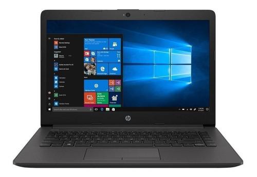 "Imagen 1 de 6 de Laptop HP 240 G7 plateado ceniza oscuro 14"", Intel Celeron N4020  4GB de RAM 500GB HDD, Intel UHD Graphics 600 1366x768px Windows 10 Home"