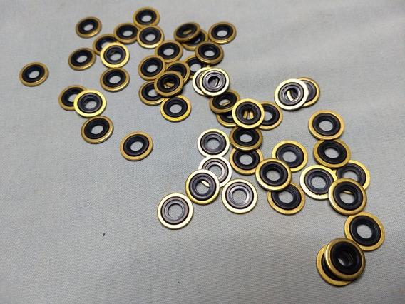 Sellos Arandela De Latón Para Regulador De Yugo Kit De 6 Pz
