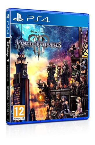 Juego Fisico Original Kingdom Hearts 3 Iii Sony Ps4 Oficial