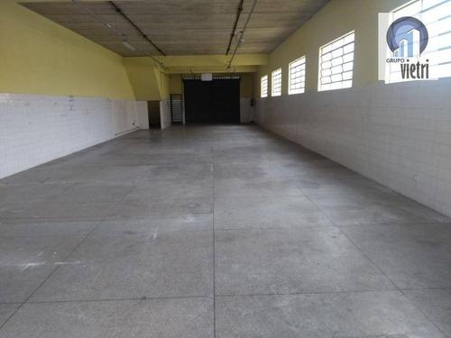 Galpão  Comercial Para Locação, Casa Verde, São Paulo. - Ga0086