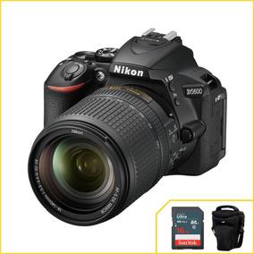 Câmera Nikon D5600 Com 18-140mm F/3.5-5.6 G Ed Vr Wi-fi