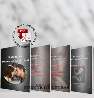 Libro Sistema De Seduccion Subliminal + Regalo