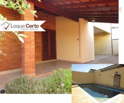 Casa Para Locação, 03 Dormitórios 01 Suíte Master, Vila Maria Helena, Indaiatuba. - Ca0167