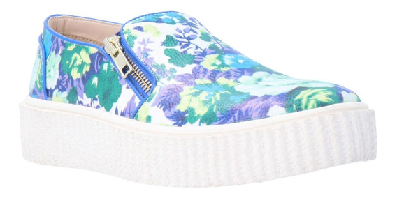 Zapatilla Abi Verano Verde Floral We Love Shoes