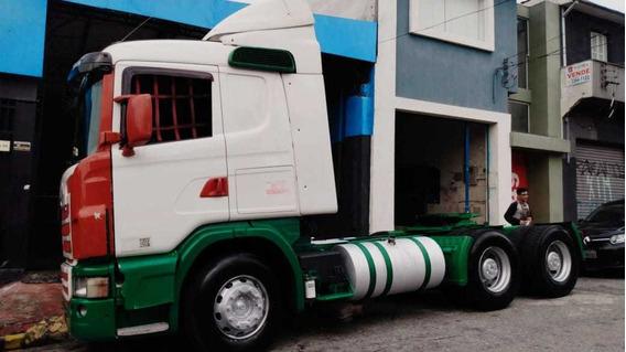 Scania G 440 6x4 Unico Dono Baixo Km