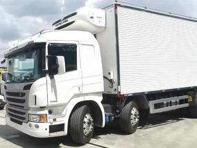 Scania P94 310 Bi-truck 2015 Baú Refrigerado Camará Fria