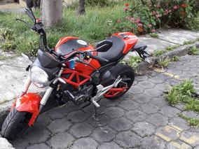 Motocicleta Motor 1 Diavolo Año 2018, En Buen Estado