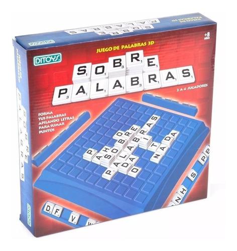 Juego De Palabras 3d Sobre Palabras Tipo Scrabble Ditoys