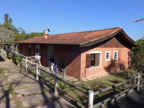 Cond. Chac Dos Lagos - Chacara Com 4.875 M2, Terrea + Casa Hospedes! - 1723