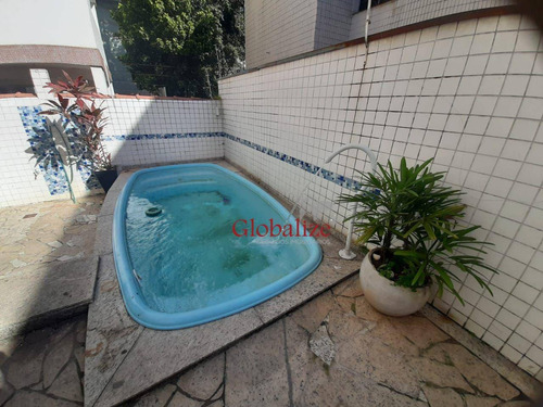 Imagem 1 de 22 de Sobreposta Baixa Com 4 Dormitórios À Venda Por R$ 900.000 - Boqueirão - Santos/sp - Ca0113