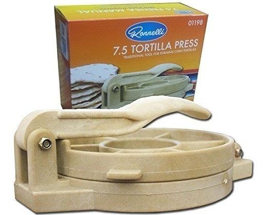 7.5 Pulgadas Tortilla Press Heavy Duty Plastic Authentic Tor