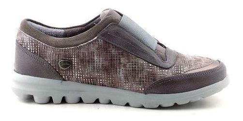 Cavatini Zapatilla Mujer Cuero Zapato Casual Moda Mczp05181
