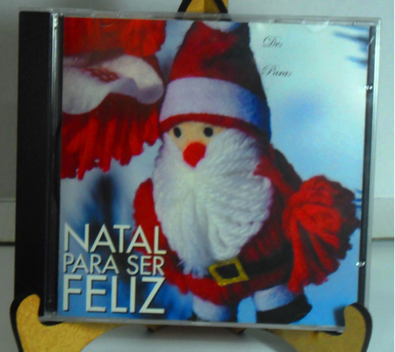 Cd Natal Para Ser Feliz,a Harpa Cristandade, Dvd Estrelas