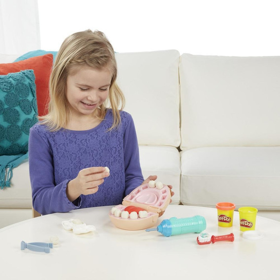 Brinquedos Meninas Massinha Modelar Play Doh Dentista Hasbro