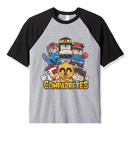 Remera Niño Compadretes Mikecrack Infantil Mod1