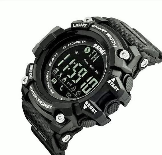 Relógio Skmei Smart Watch Bluetooth 1227 Pt Original