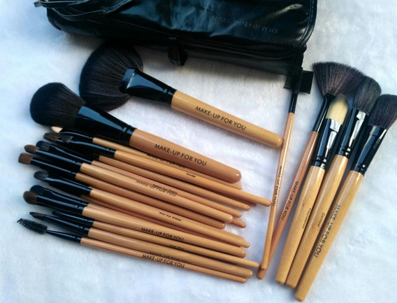 24 Brochas Maquillaje Profesionales Make Up For You