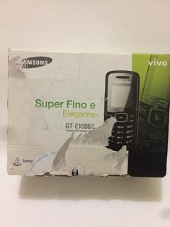 Celular Samsung E1086 Novo