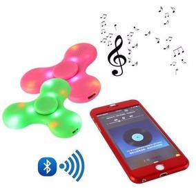 Fidget Spinner Gyros Con Bluetooth Y Luces Led