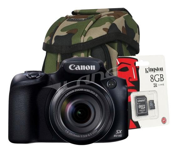 Canon Sx70 Hs Powershot 4k Wifi Nfc Raw Garantia Regalos