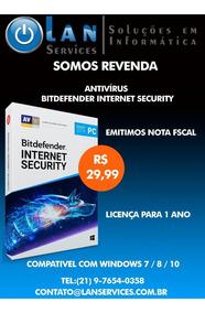 Bitdefender Internet Security 2019 - Antivírus