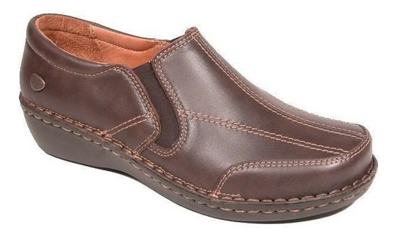Zapato Cavatini 50-1560-flor Chocolate Slack