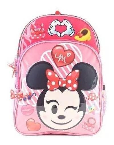 Mochila De Minnie Mouse (emoji) Disney Espalda 16