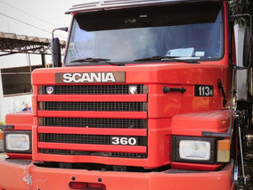 Scania 113, Unico Dono,trucado, Top, Só Trabalhar