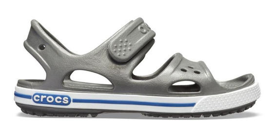 Crocs Crocband Ii Sandal Ps Slate Grey/blue