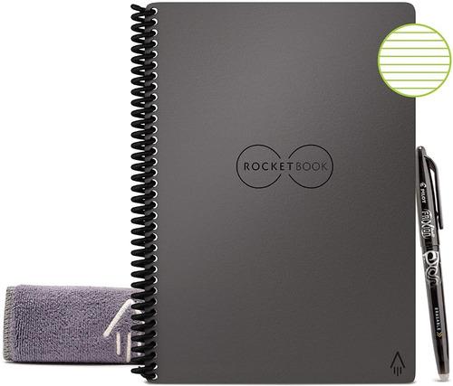 Cuaderno Rocketbook 15x22 Cm Ejecutivo Reutilizable