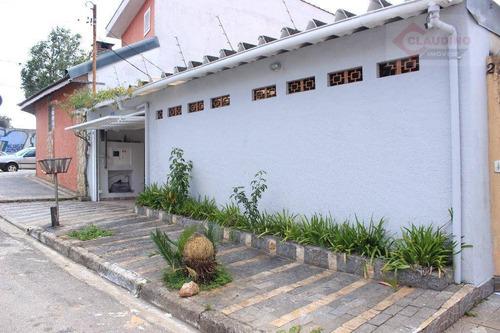 Casa Residencial À Venda, Jardim Nove De Julho, São Paulo. - Ca0717
