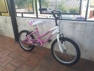 Bicicleta Robinson Rodado 16 Paseo Nena Lista Para Usar