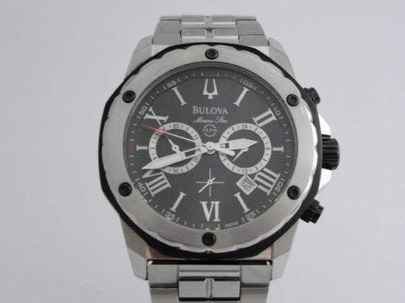Relógio Bulova Marine Star Masculino Wr 100 - Ref: 98b106
