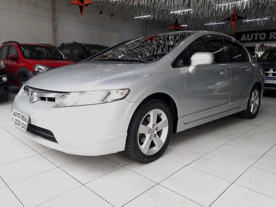Civic / Honda Civic Lxs 1.8 Flex 2008 / Financiamento 100%