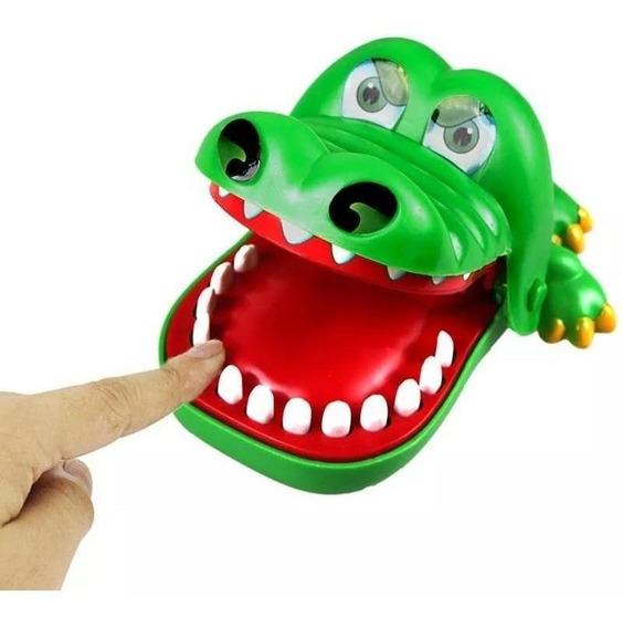 Jacaré Brinquedo Jogo Desafio Croc Croc Morde Dedos
