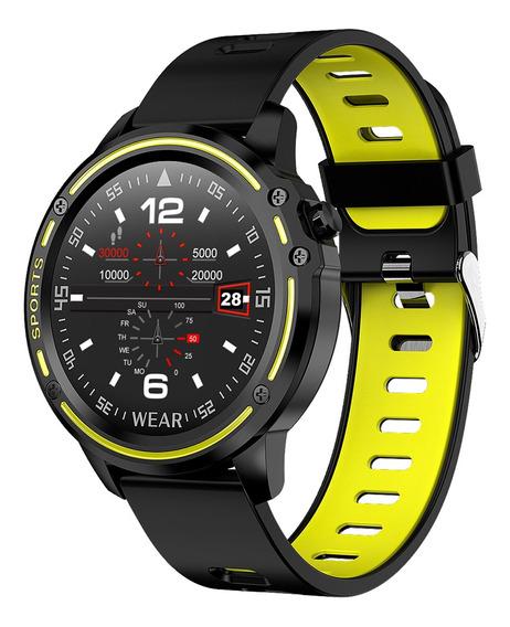 Reloj Inteligente Microwear L8 Impermeable Tipo Ip68
