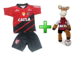Uniforme Infantil Athletico Paranaense Atlético + Cavalinho