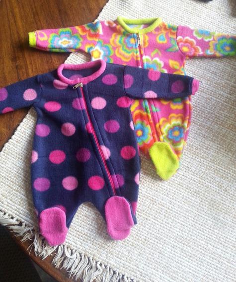 Pijamas De Tela Termica Y Polar Para Bebes