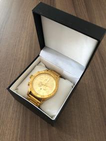 Relógio Nixon 51- 30 Chrono All Gold