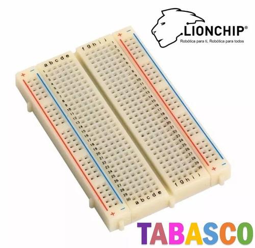 Imagen 1 de 2 de 1 Pieza Mini Protoboard Tabla Proto 400 Puntos Raspberry C