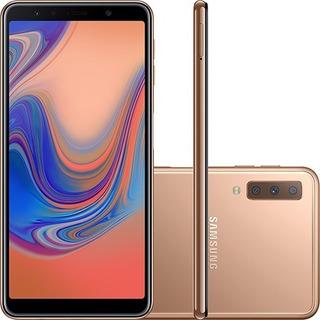Smartphone Samsung A750g Galaxy A7 128gb Dual Chip   Vitrine