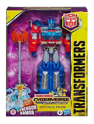 Boneco Optimus Prime 25cm Transformers Energon Armor Hasbro