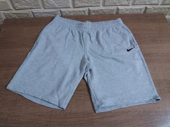 Bermuda De Moletom Nike Em Excelente Estado Original!