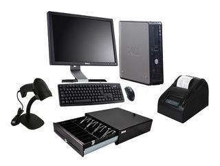 Kit Punto De Venta + Computadora Completa 4gb 160gb