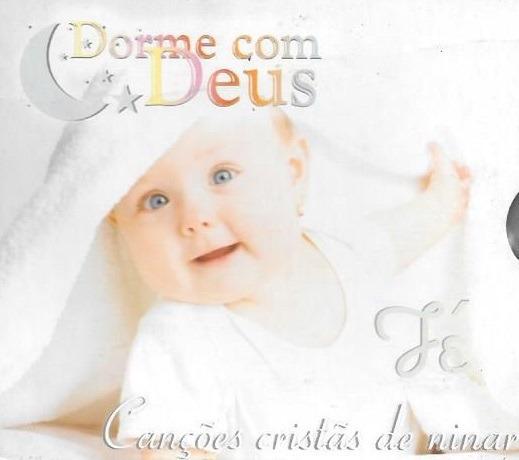 Cd Dorme Com Deus - Fé - Canções Cristãs De Ninar