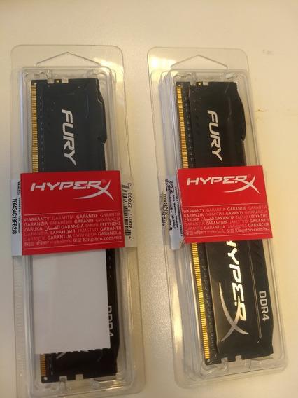 Hyperx Fury 16gb (2x8gb) 3466mhz Ddr4 Cl19
