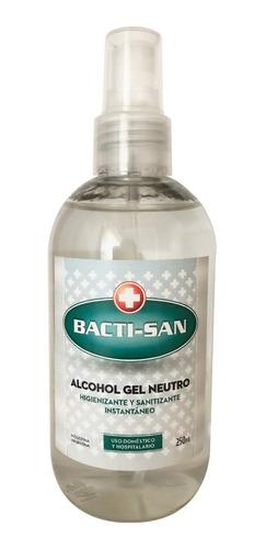Imagen 1 de 2 de Alcohol En Gel Antibacterial Higienizante Manos Anmat X 250