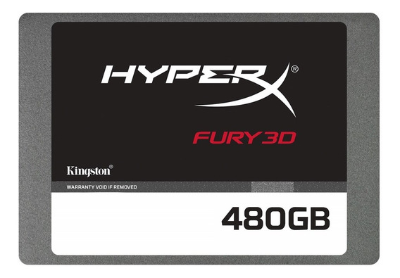 Disco Solido Gamer 480gb Hyperx Fury Ssd 2.5 3d 2